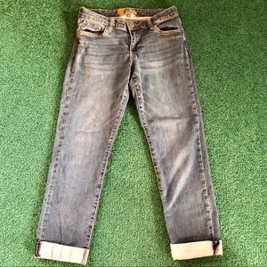 Kut From the Kloth Mid Rise Ankle Jeans size 6